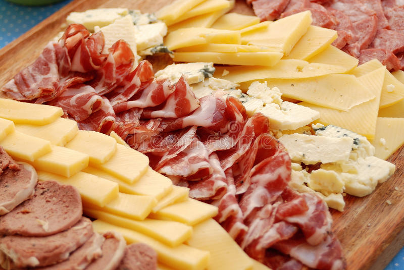 Verscheidenheid van vlees royalty-vrije stock foto