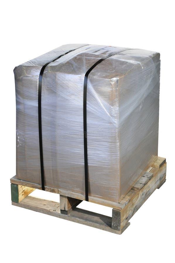 Verschepend Pakket stock foto's