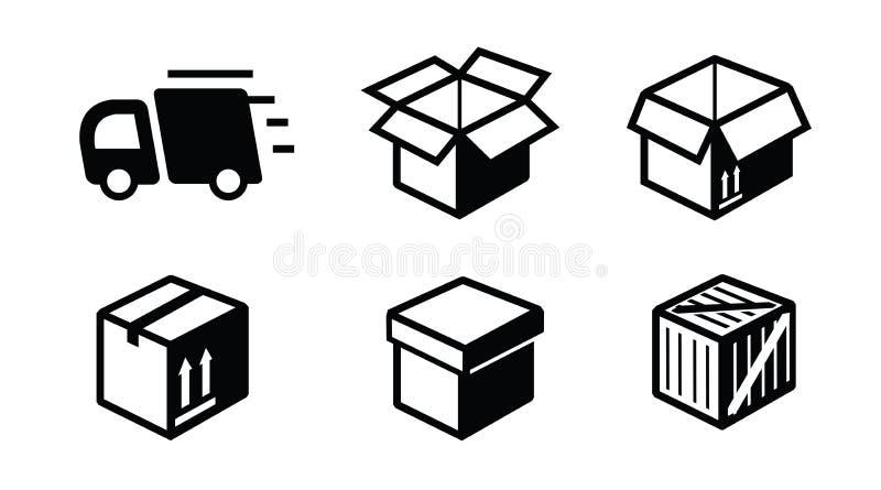 Verschepend pictogram stock illustratie