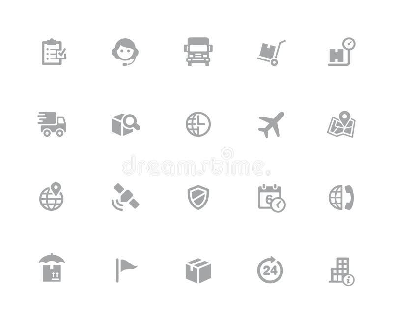 Verschepende & Volgende Pictogrammen //32 Witte Reeksen van pixelpictogrammen royalty-vrije stock afbeeldingen