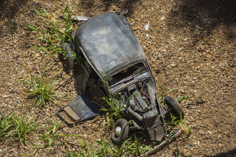 Verscheurde auto stock foto's