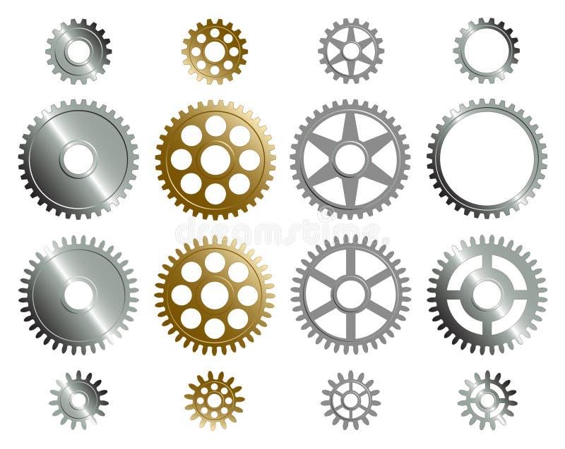 Download Verschiedene Gänge. vektor abbildung. Illustration von paar - 3272280