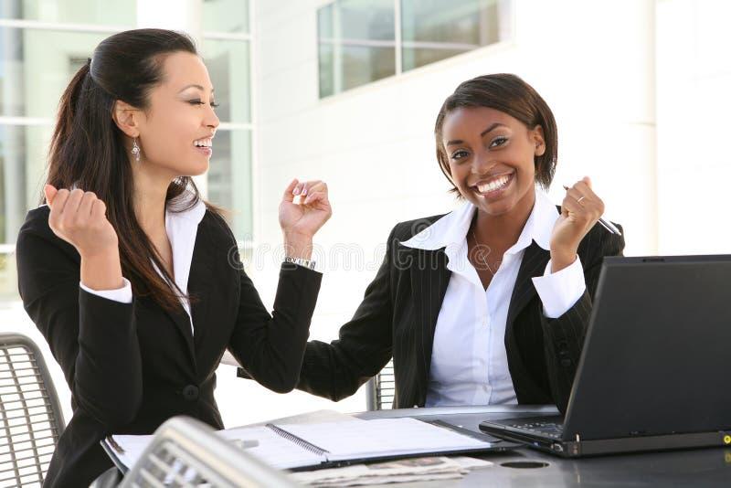 Verschiedene Geschäftsfrauen lizenzfreies stockfoto