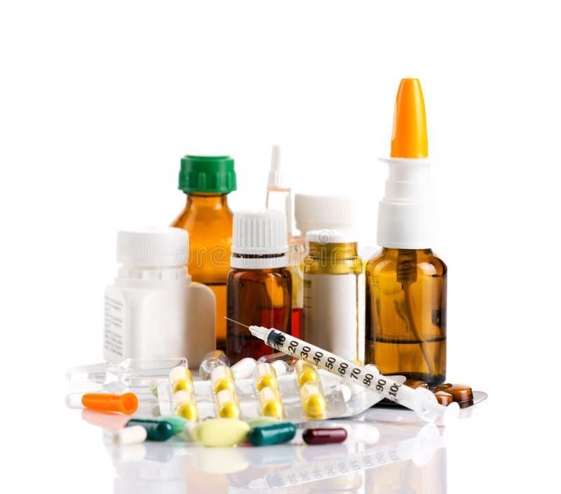 Verschiedene Medikamente lizenzfreie stockfotos