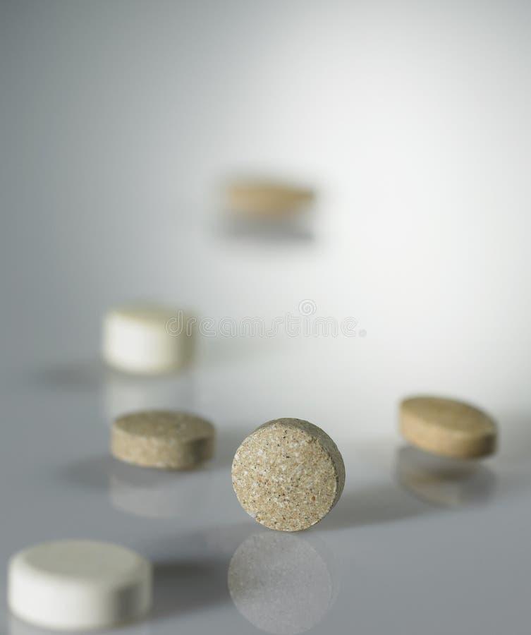 Verschiedene Medizin stockfotografie