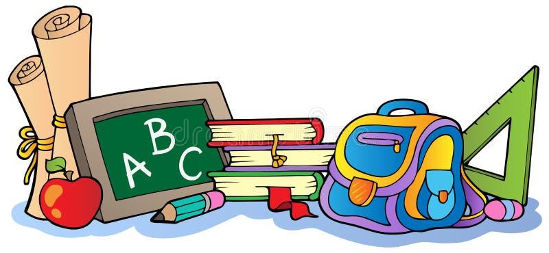 Schule-clipart Vektorgekritzelschulikonensymbole Vektor Abbildung -  Illustration von ausbildung, skizze: 121688796