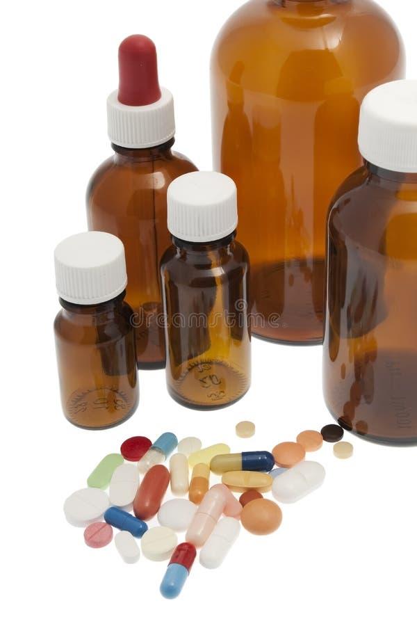 Verschiedene Tabletten, Medizin lizenzfreie stockfotos