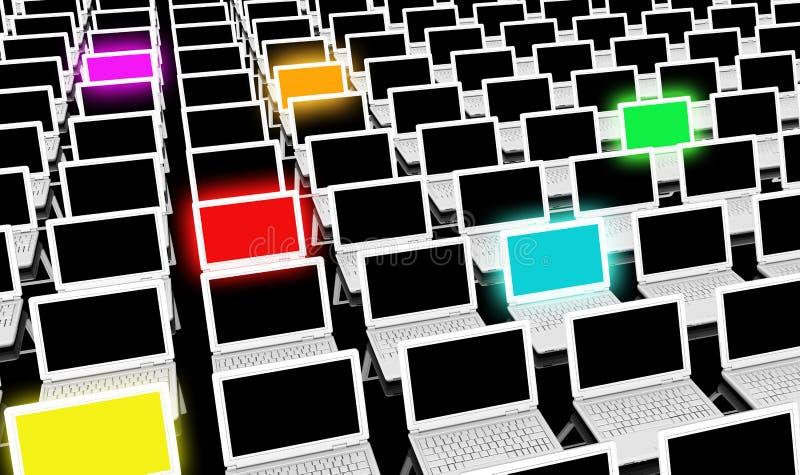 Verschiedene Technologien lizenzfreie abbildung