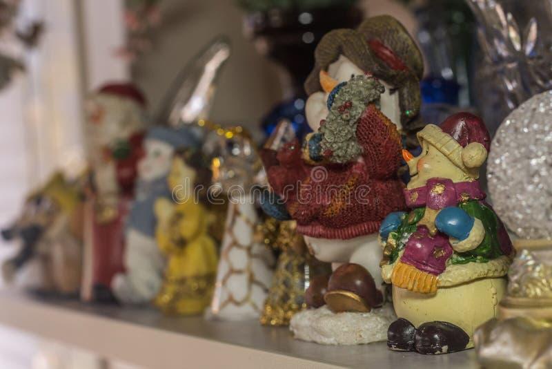 verschiedene Zahlen zum Weihnachten lizenzfreie stockfotografie