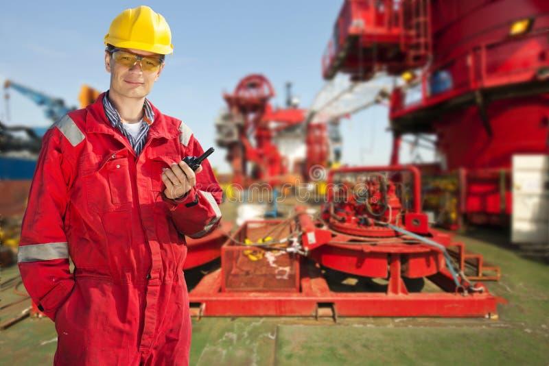 Verschiffen-Ingenieur lizenzfreies stockfoto