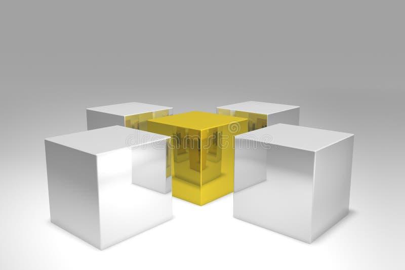 Verschillend vector illustratie