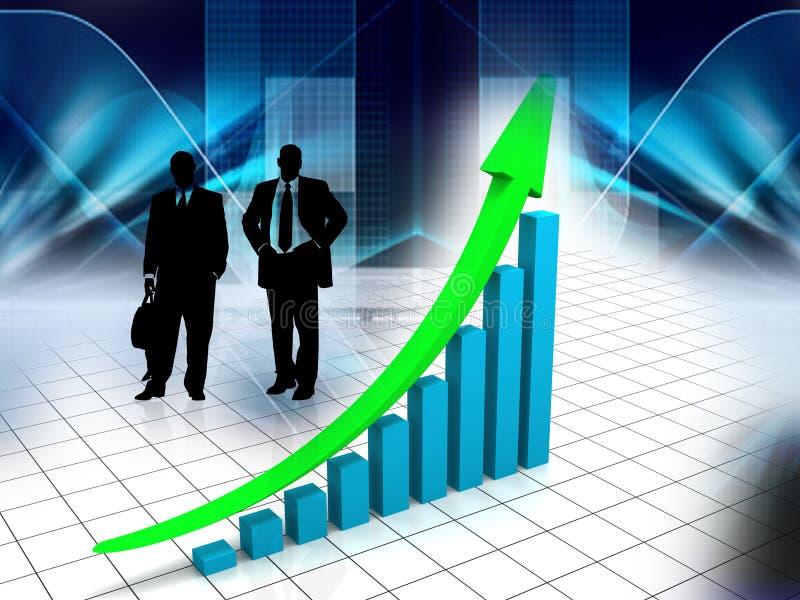 Verschillend bedrijfsconcept stock illustratie
