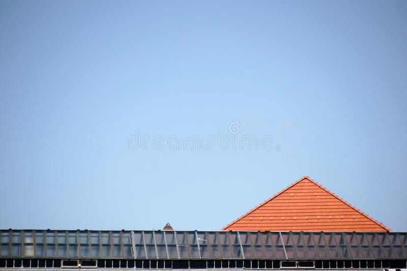 Verschillende daken royalty-vrije stock afbeeldingen
