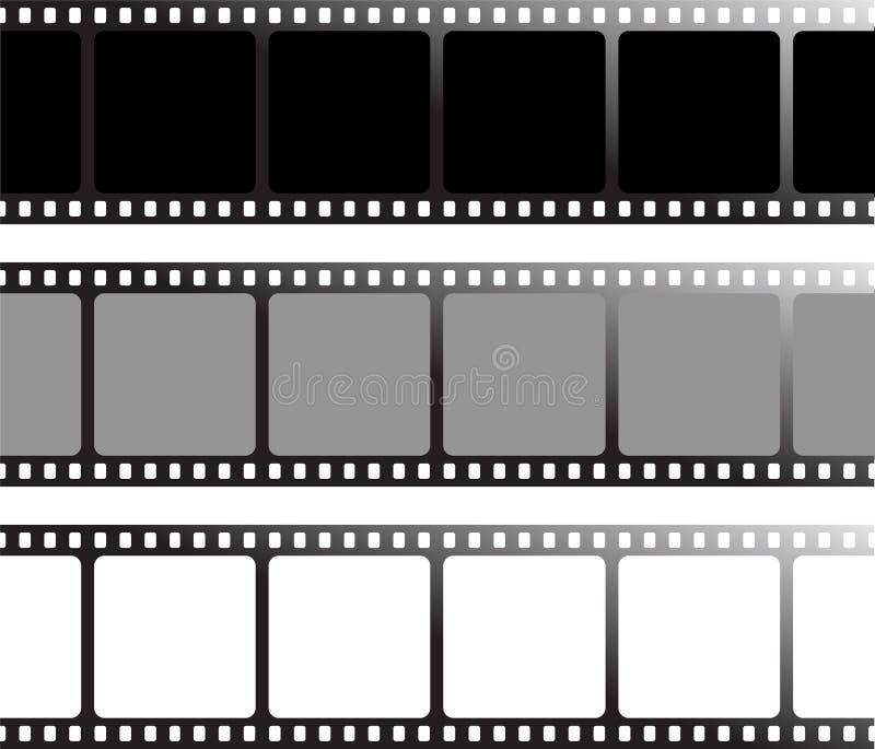 Verschillende film vector illustratie