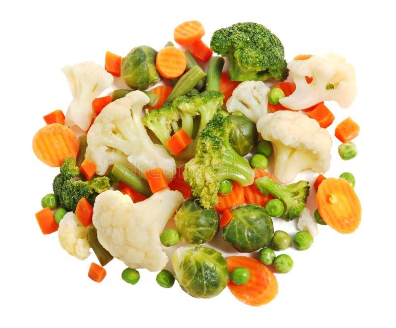 Verschillende groenten royalty-vrije stock foto's