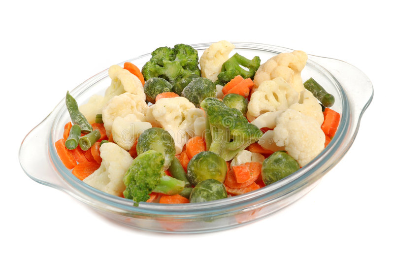 Verschillende groenten stock fotografie