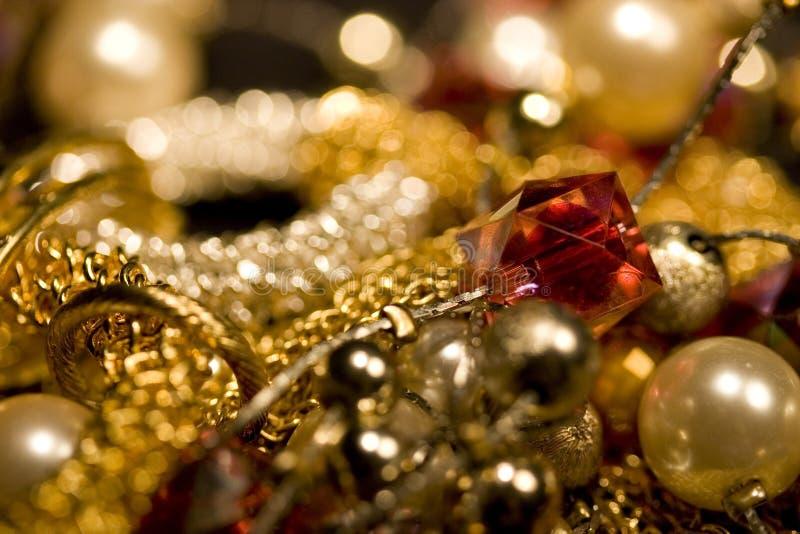 Verschillende juwelen royalty-vrije stock fotografie