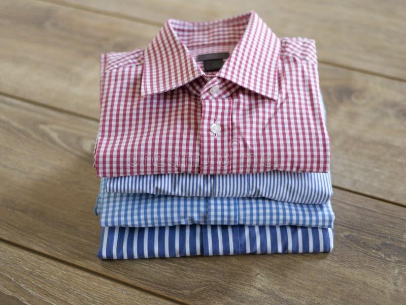 Verschillende overhemden royalty-vrije stock afbeeldingen