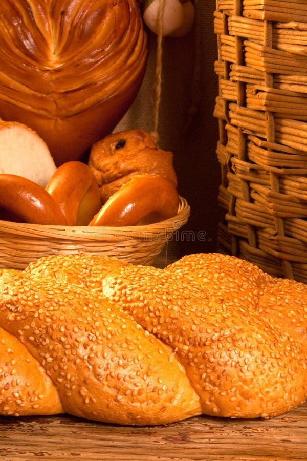 Verschillende soorten brood stock afbeelding