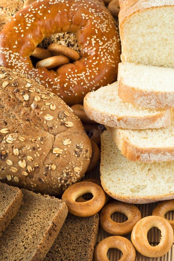 Verschillende soorten brood stock foto's