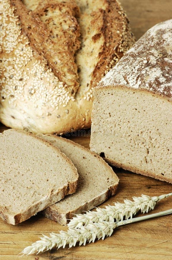 Verschillende soorten Brood stock afbeeldingen