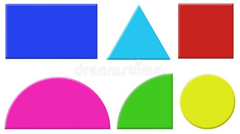 Verschillende vormen vector illustratie