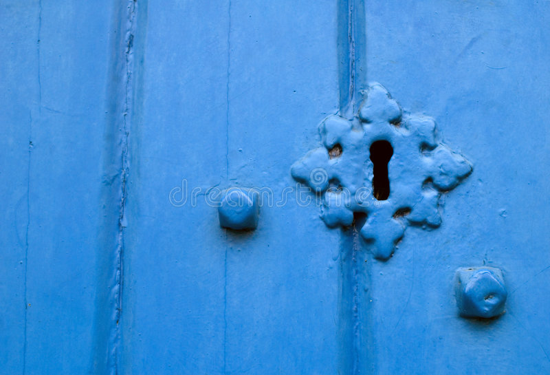 Verschlossene Tür lizenzfreies stockbild