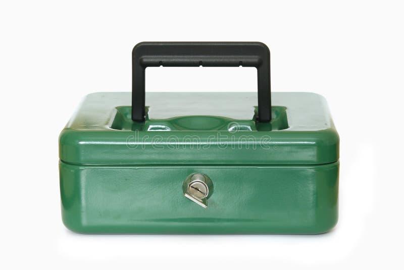 Verschlossener Sicherheits-Kasten lizenzfreie stockfotografie