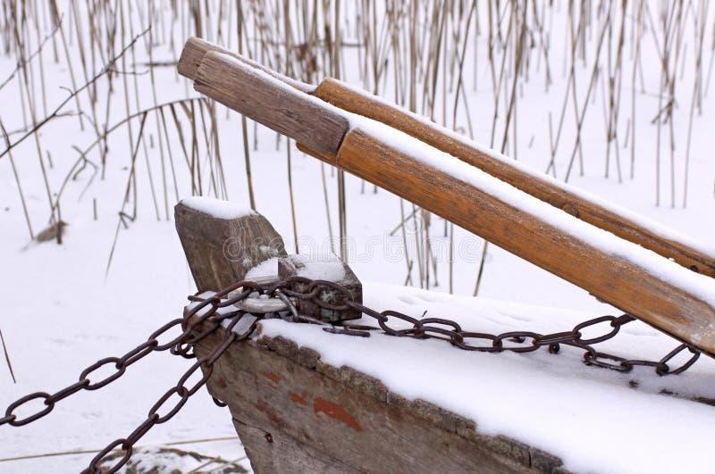 Verschlossenes Boot lizenzfreies stockfoto
