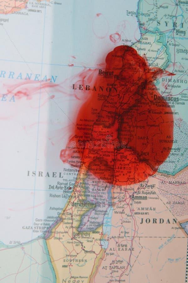 Verschrikking I van Mideast stock afbeeldingen