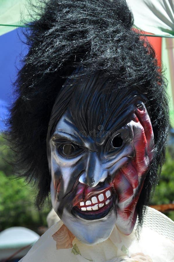 Verschrikkingsmasker royalty-vrije stock afbeelding