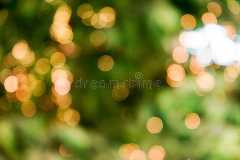 Verse aard groene onscherp en bokeh achtergrond stock foto