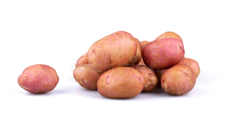 Verse aardappels stock foto