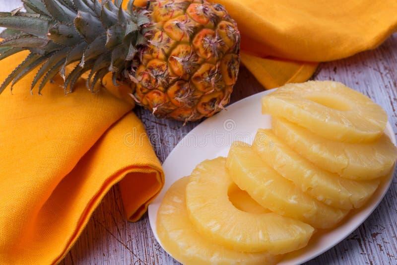 Verse Ananas stock fotografie