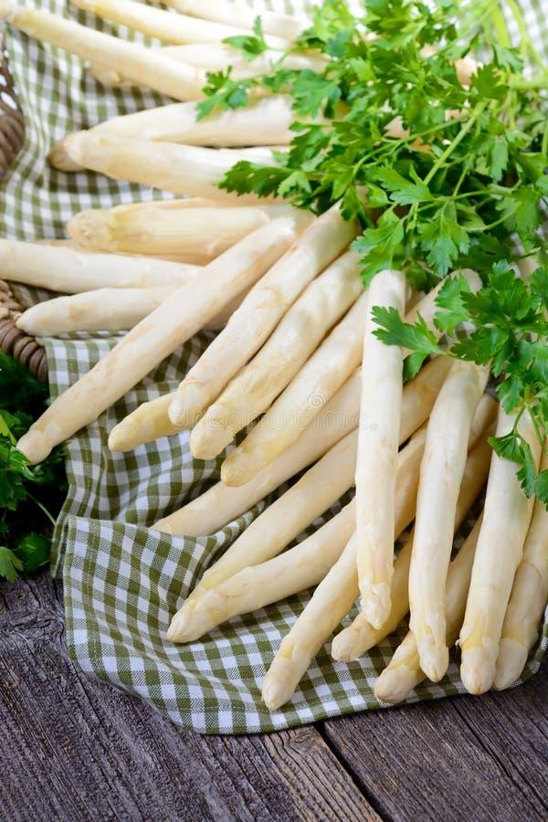 Verse asperge stock foto