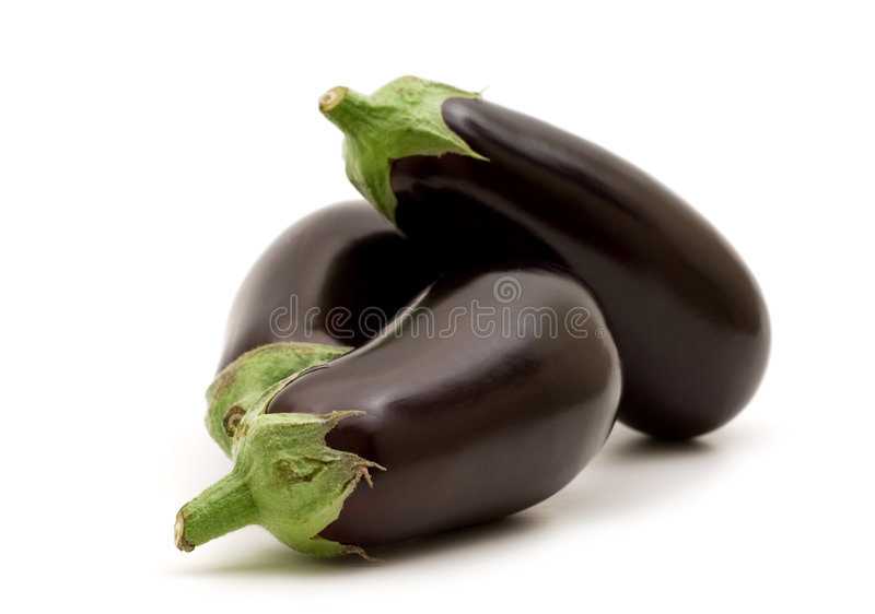Verse aubergine stock afbeeldingen