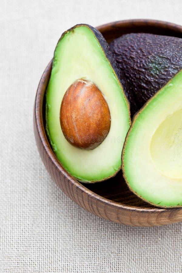 Verse avocado royalty-vrije stock foto