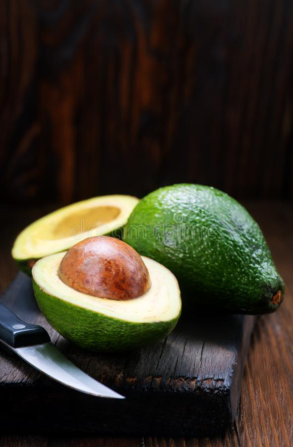 Verse avocado royalty-vrije stock fotografie