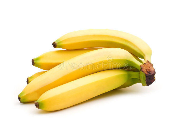 Verse banaan stock afbeeldingen