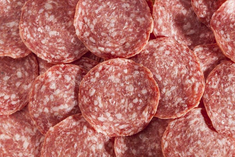 Download Verse Besnoeiings Organische Salami Stock Afbeelding - Afbeelding bestaande uit gerookt, salami: 29510729