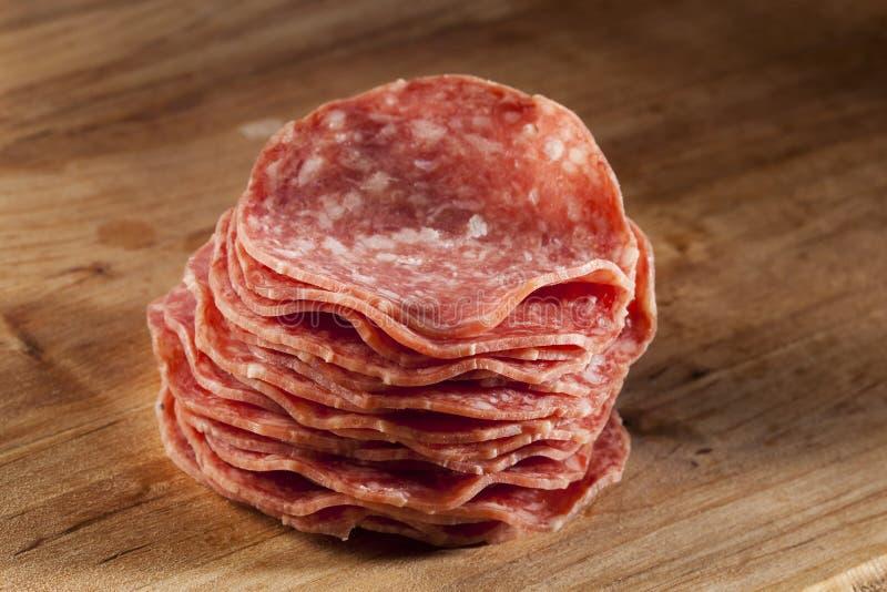 Download Verse Besnoeiings Organische Salami Stock Foto - Afbeelding bestaande uit vlees, worst: 29510850