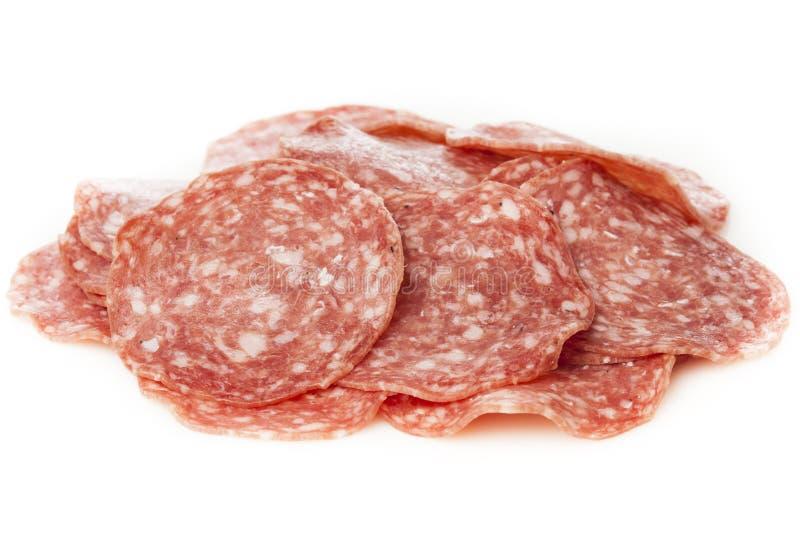 Download Verse Besnoeiings Organische Salami Stock Foto - Afbeelding bestaande uit kruid, rood: 29510976