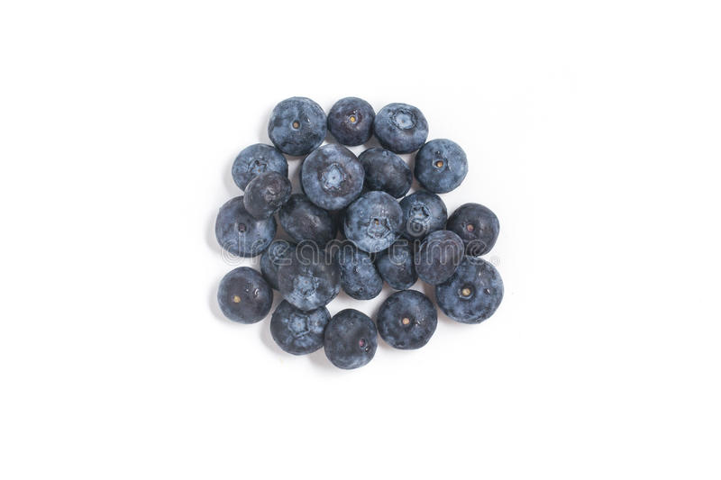 Verse Bosbessen Berry Fruit royalty-vrije stock foto