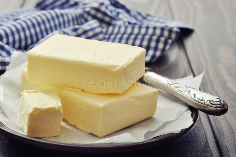 Verse boter stock afbeeldingen