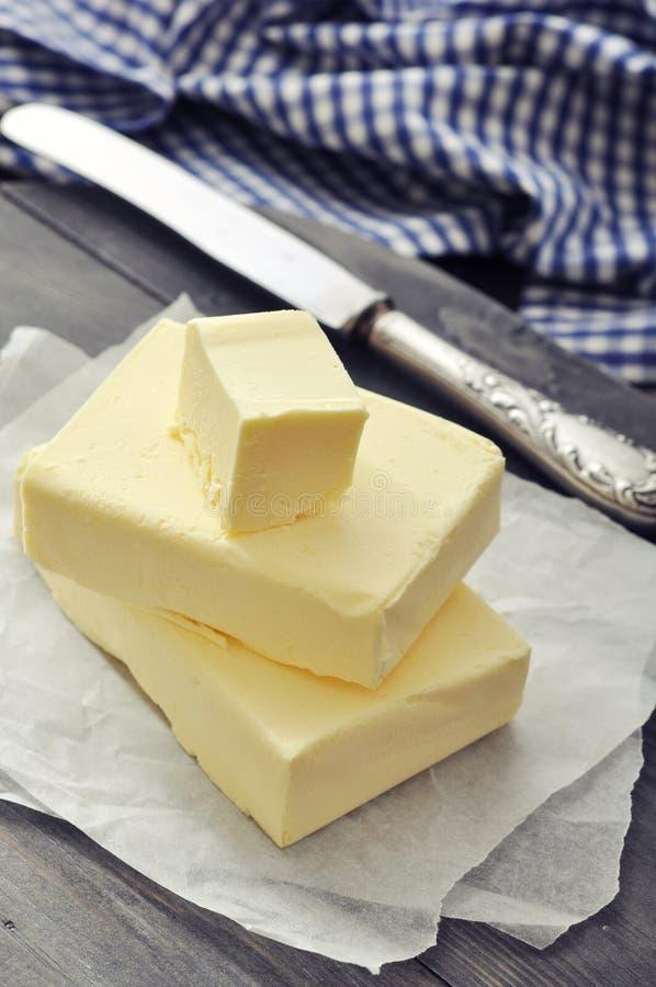 Verse boter royalty-vrije stock fotografie