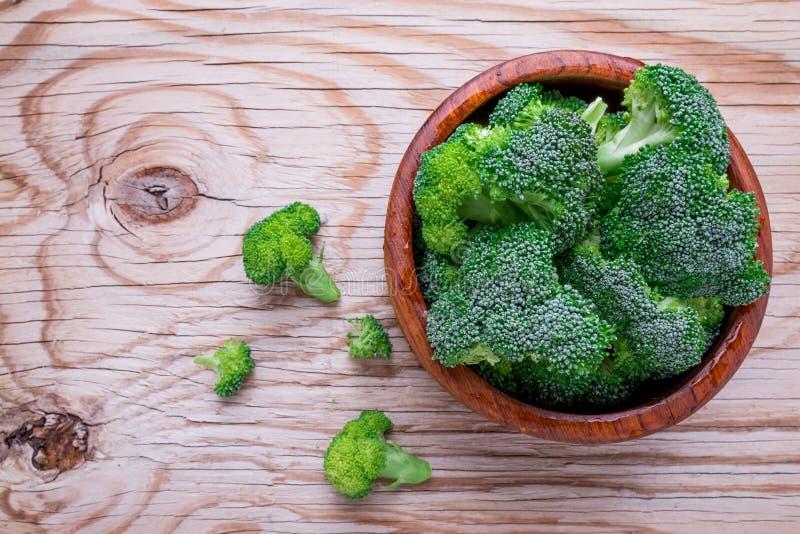 Verse brocoli stock afbeeldingen