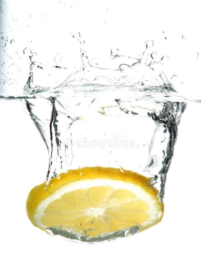 Verse citroen royalty-vrije stock afbeelding