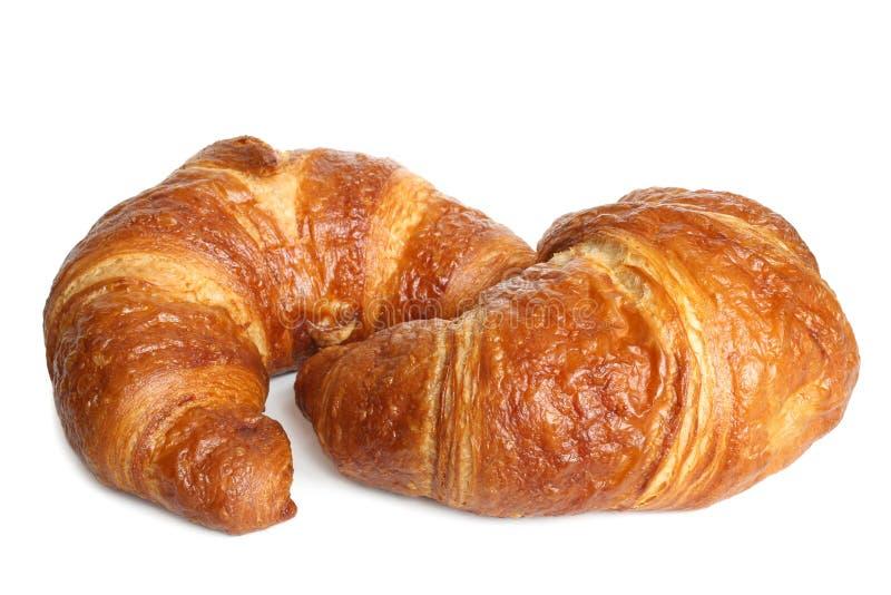 Verse croissanten stock fotografie