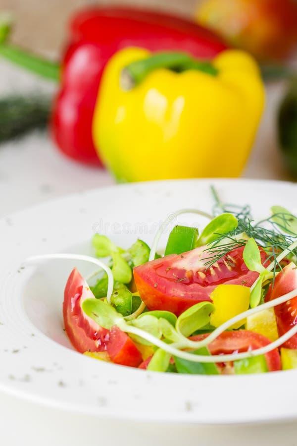 Verse de lentesalade stock foto's