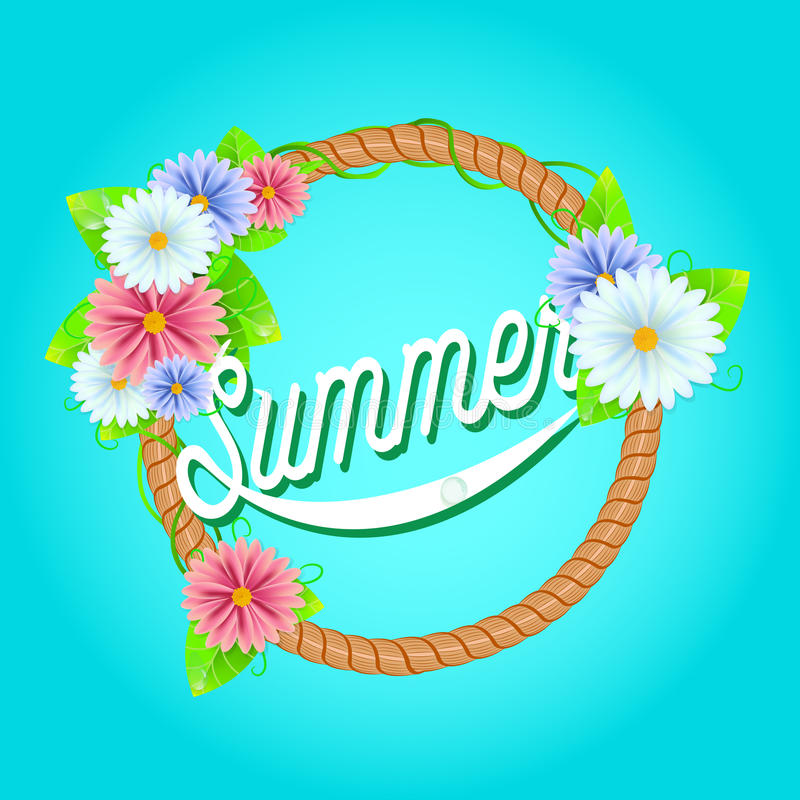 Download Verse de zomerachtergrond stock illustratie. Illustratie bestaande uit chamomile - 54091091